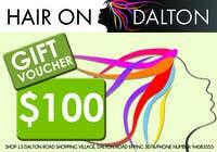 Graphic Design Конкурсная работа №110 для Stationery Design for HAIR ON DALTON