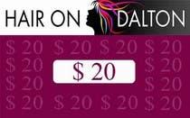 Graphic Design Zgłoszenie na Konkurs #43 do konkursu o nazwie Stationery Design for HAIR ON DALTON