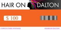 Graphic Design Zgłoszenie na Konkurs #3 do konkursu o nazwie Stationery Design for HAIR ON DALTON