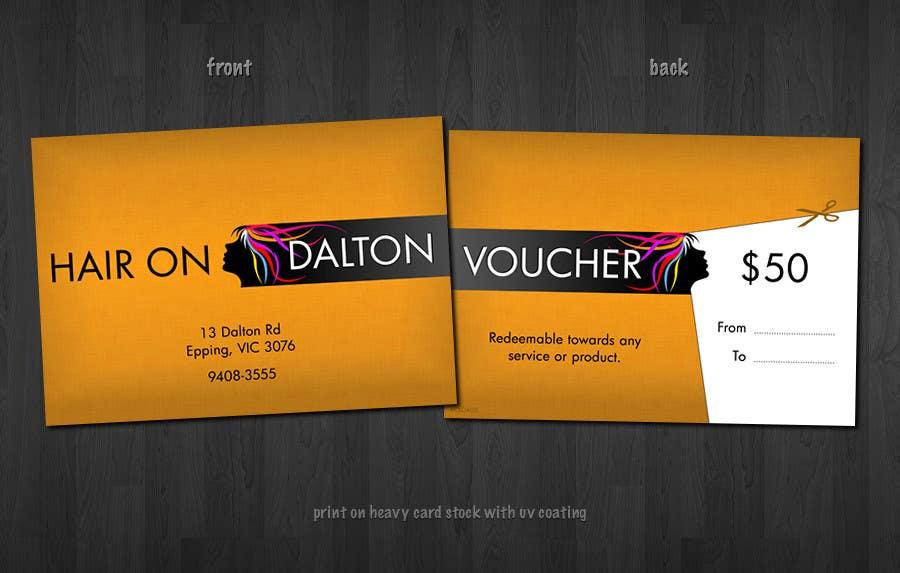 Zgłoszenie konkursowe o numerze #160 do konkursu o nazwie Stationery Design for HAIR ON DALTON