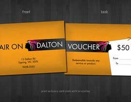 #160 for Stationery Design for HAIR ON DALTON av tzflorida