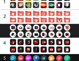 #7 para 5 Emoji icon designs por iyaanne11