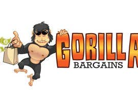#42 for Logo Design for Gorilla Bargains af agungmalang