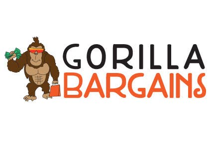 Contest Entry #34 for Logo Design for Gorilla Bargains