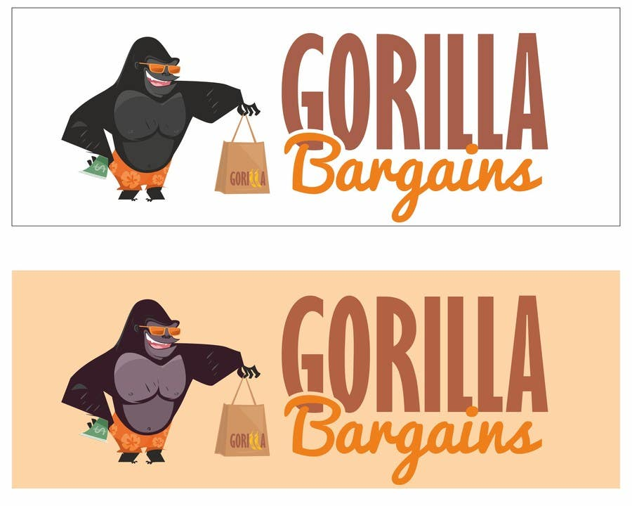Contest Entry #35 for Logo Design for Gorilla Bargains