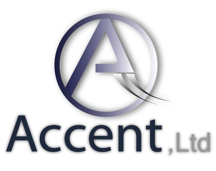 Penyertaan Peraduan #157 untuk Logo Design for Accent, Ltd