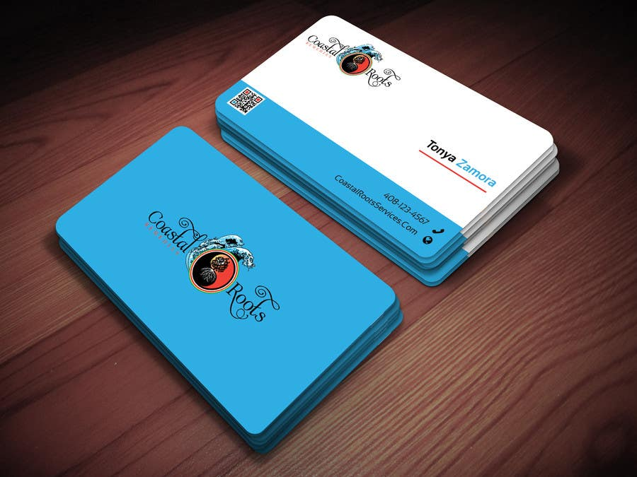 Entry #44 by Ponkhirajj for Design a Flyer & Business Card for start ...