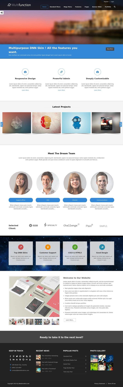 Inscrição nº                                         21                                      do Concurso para                                         Design Website for Web design company in PSD