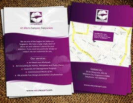 #81 para Flyer Design for Very Nice Art Pte Ltd (veryniceart.com) por Jabinhossain