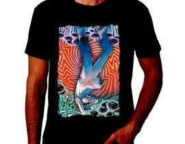 nº 3 pour I need a psychedelic T-Shirt design par feramahateasril