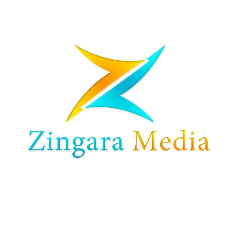 #182 for Logo Design for Zingara Media by Nikusaini