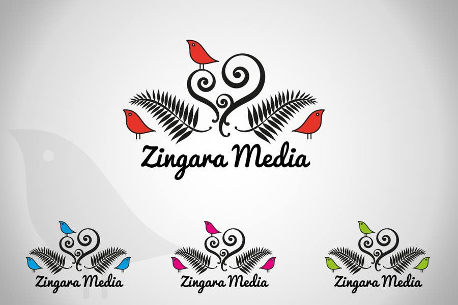 #195 for Logo Design for Zingara Media by architechno23