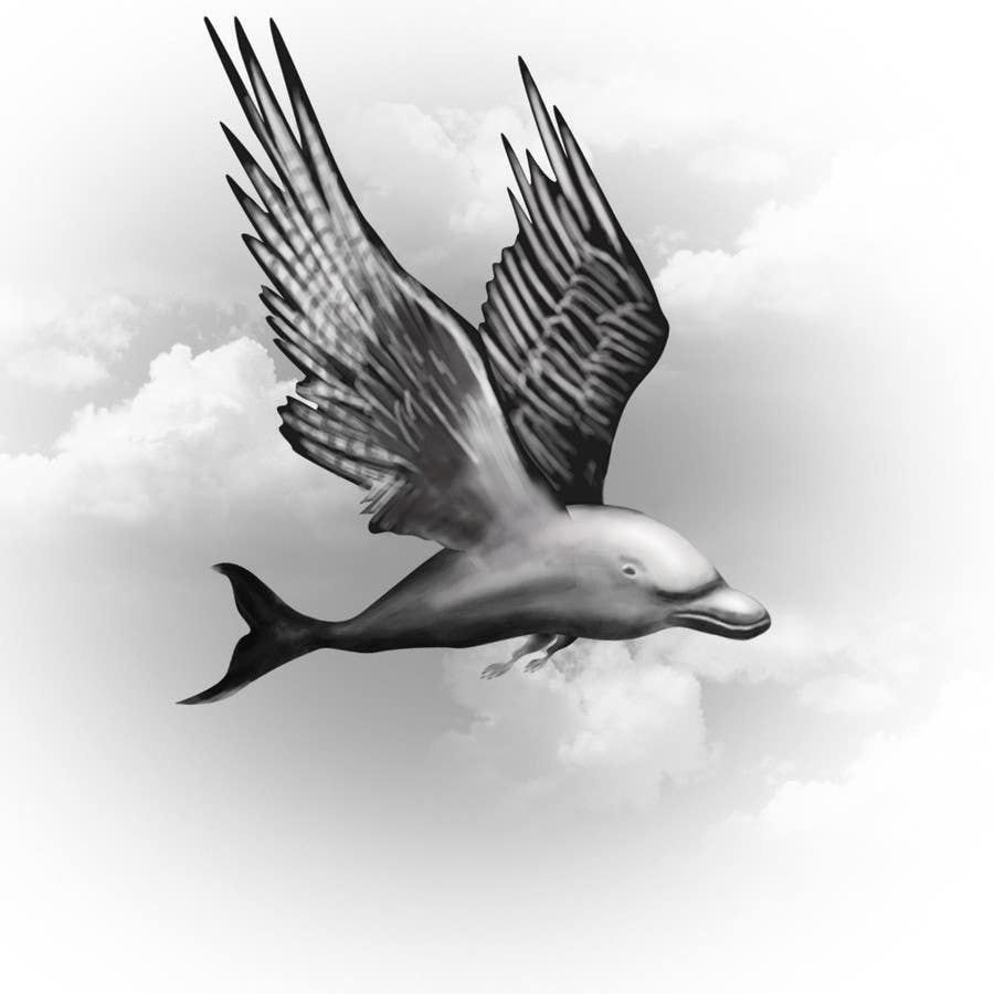 Entry #10 by dreammachine321 for Illustrate a Osprey/Dolphin