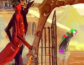 #5 for Pinball Game Playfield Background Artwork af salman132