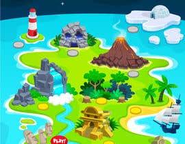 #6 for Pinball Game Playfield Background Artwork af salman132