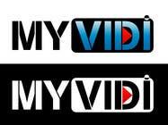 "Graphic Design Intrarea #203 pentru concursul ""Logo Design for MyVidis.com"""