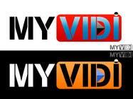 "Graphic Design Intrarea #204 pentru concursul ""Logo Design for MyVidis.com"""