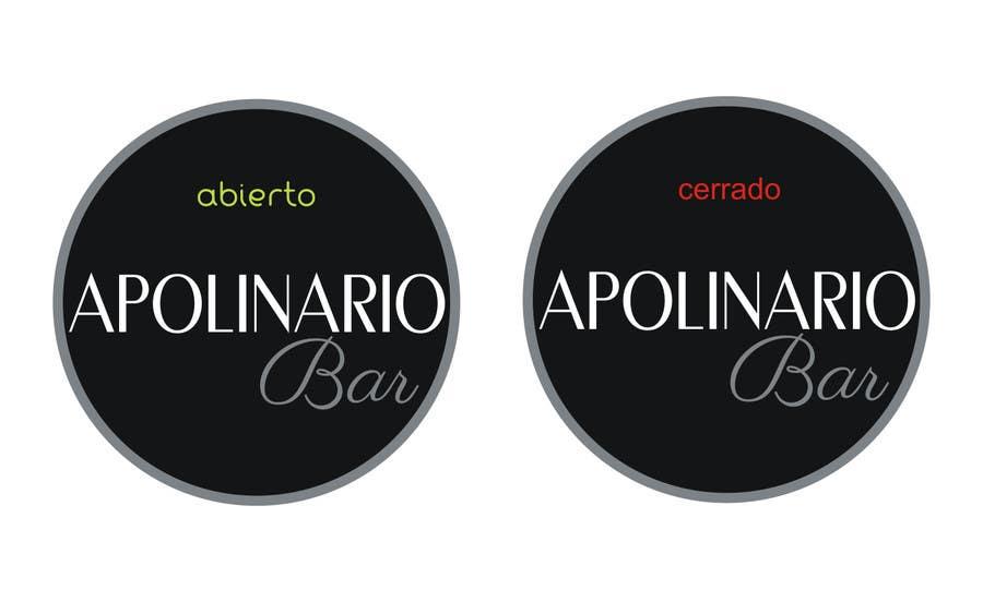 Penyertaan Peraduan #                                        37                                      untuk                                         Diseñar un logotipo for Bar Apolinario