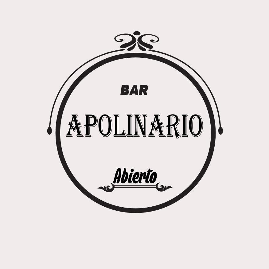Penyertaan Peraduan #                                        38                                      untuk                                         Diseñar un logotipo for Bar Apolinario