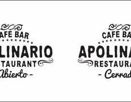 #17 untuk Diseñar un logotipo for Bar Apolinario oleh javierlizarbe