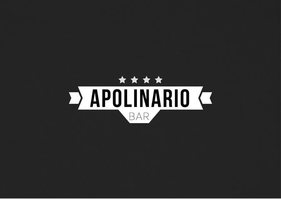 Penyertaan Peraduan #                                        45                                      untuk                                         Diseñar un logotipo for Bar Apolinario