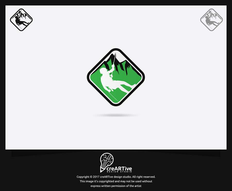 Contest Entry #53 for Design an emblem for a canyoneering company