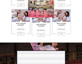 #37 для Website Design / Template Mockup for Martial Arts Club от marioandi