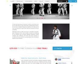 #25 для Website Design / Template Mockup for Martial Arts Club от Shiriharusha