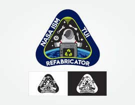 #182 for NASA Contest: ISS Refabricator Patch Challenge by rafaelffontes