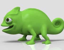 #10 untuk 3D mold design for Chameleon toy oleh tsvetannikolov
