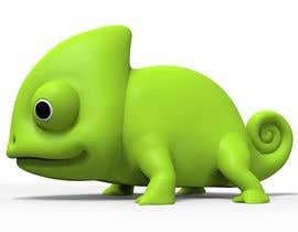 #18 untuk 3D mold design for Chameleon toy oleh tsvetannikolov