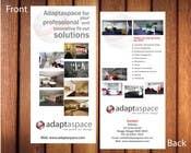 Graphic Design Конкурсная работа №23 для Graphic Design/ Marketing / Brochure Card for adaptaspace
