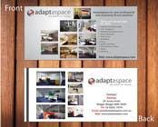 Graphic Design Конкурсная работа №24 для Graphic Design/ Marketing / Brochure Card for adaptaspace