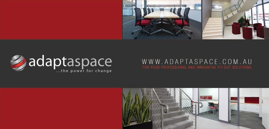 Конкурсная заявка №5 для Graphic Design/ Marketing / Brochure Card for adaptaspace