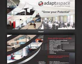 ezesol tarafından Graphic Design/ Marketing / Brochure Card for adaptaspace için no 9