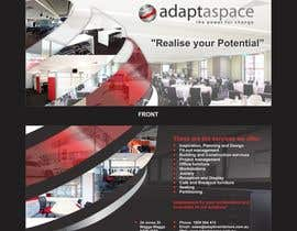 #10 cho Graphic Design/ Marketing / Brochure Card for adaptaspace bởi ezesol