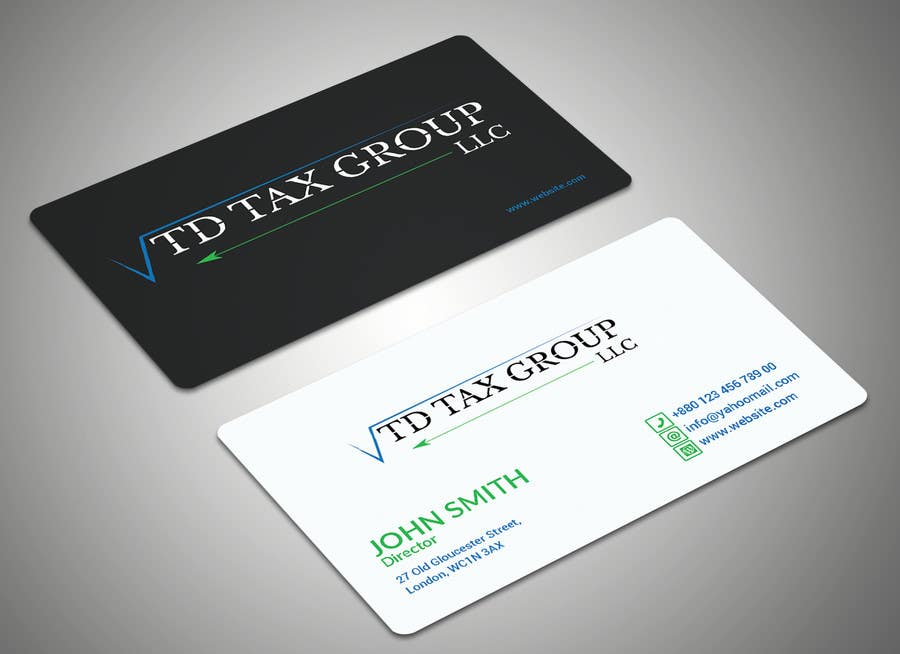Entry 19 by sohelarman00 for design logo business card and business card reheart Gallery