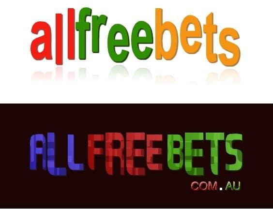 """Конкурсная заявка №52 для Logo Design for """"allfreebets"""" Website"""