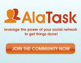 #26 para Banner Ad Design for AlaTask por Pushstudios