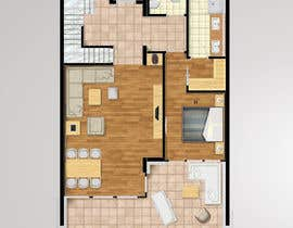 #6 for Hotel Rooms Illustration af Abdulex