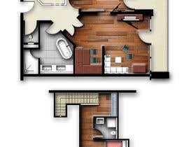 #23 for Hotel Rooms Illustration af abdomostafa2008
