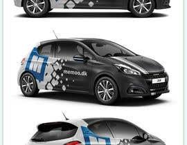 nº 70 pour Graphic streamers for car (Peugeot 208) par Azhoeck