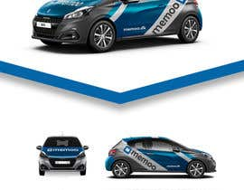 nº 33 pour Graphic streamers for car (Peugeot 208) par GraphicaModerno