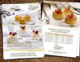 #44 untuk Flyer Design for Country Chef Desserts Pty Ltd oleh Jabinhossain