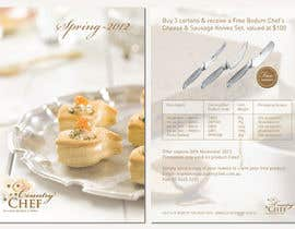 Pushstudios tarafından Flyer Design for Country Chef Desserts Pty Ltd için no 50