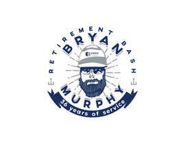 #190 para Bryan Murphy Retirement Logo por YKNB