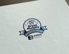 #284 para Bryan Murphy Retirement Logo por zouhairgfx