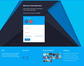 #1 cho Design a Website Mockup bởi singharoydeb89