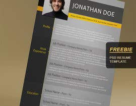 create an interactive pdf resume portfolio freelancer