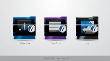 #196 for Application Icons for Forex Studio (Windows software) by TecImag
